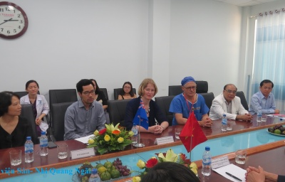Patients New Zealand Ambassador to Vietnam Visiting, Giving Gifts for Cleft Lip and Cleft Palate